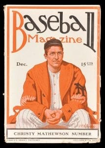 Christy Mathewson Baseball Magazine
