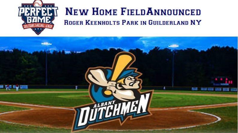 PGCBL's Dutchmen Announce New Home Venue